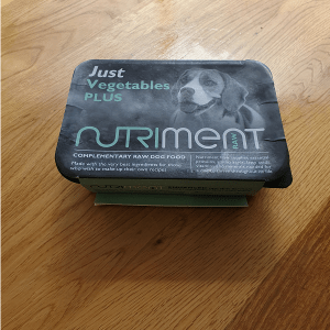 Nutriment 500g Just Veg